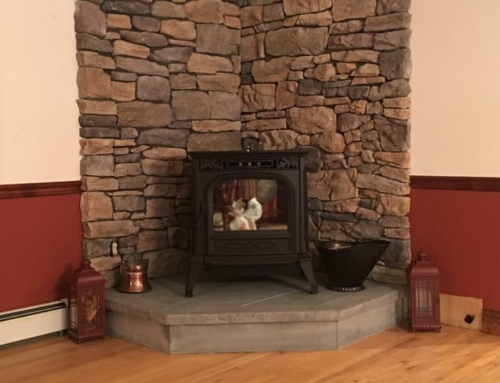 Pellet Stove Accent Wall: Wantage, NJ